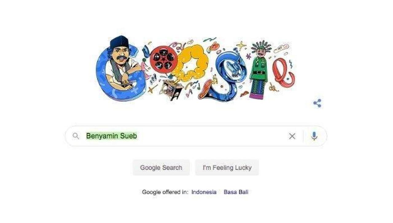 google doodle benyamin sueb