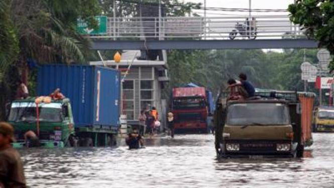 Banjir di Cengkareng, Jakarta Barat