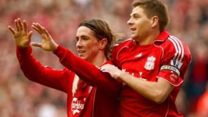 Fernando Torres & Steven Gerrard