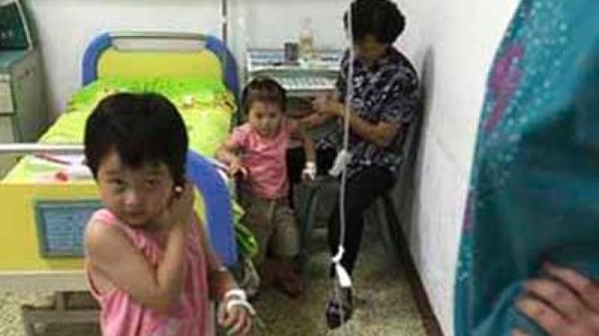 Skandal Susu Beracun di China