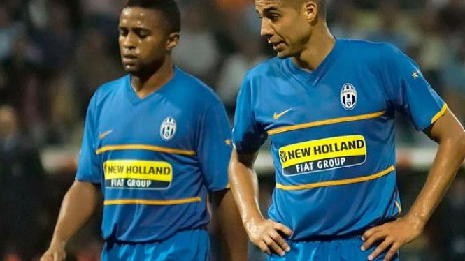 Jorge Andrade (kiri) & David Trezeguet