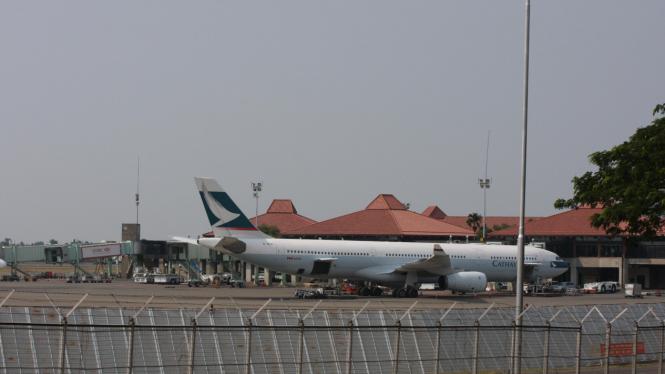 Pesawat di Bandara Soekarno Hatta