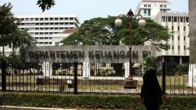 Gedung Departemen Keuangan di Lapangan  Banteng