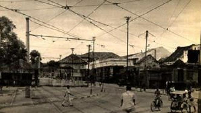 Jatinegara tahun 1955