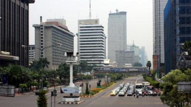 Jalan MH Thamrin Jakarta