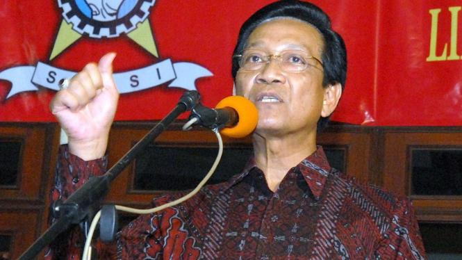 Sultan Hamengkubuwono X di acara SOKSI