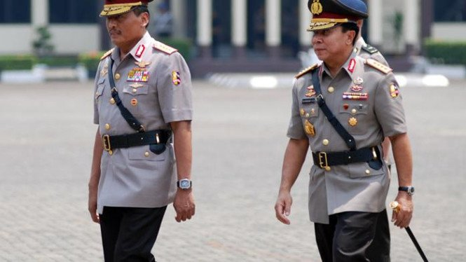 Sutanto dan Kapolri Bambang Hendarso