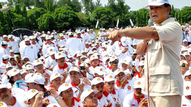 Prabowo membekali kader Gerindra