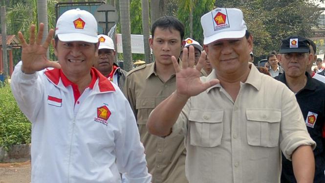 Suhardi dan Prabowo Subianto