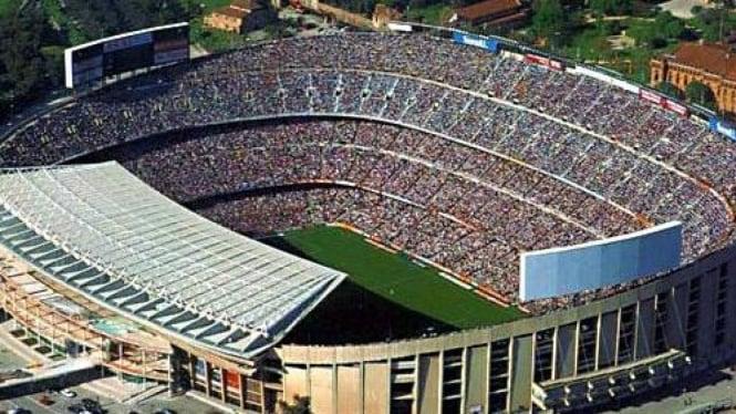 Kompleks stadion kebanggaan Barcelona, Camp Nou