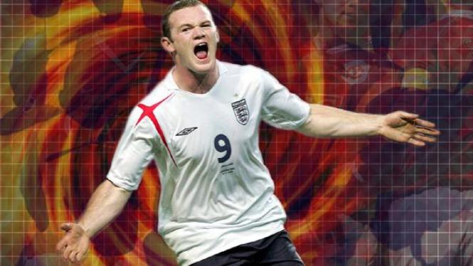 bomber tim nasional inggris, Wayne Rooney