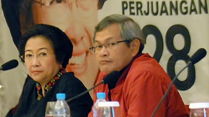 Pramono Anung & Megawati Soekarnoputri