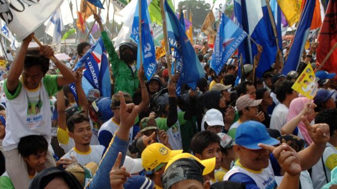 Suasana Pilkada Kota Tangerang