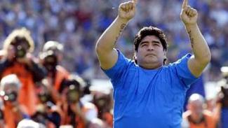 Legenda Argentina, Diego Maradona.