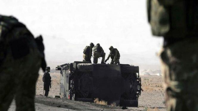 Bom Bunuh Diri di Afghanistan