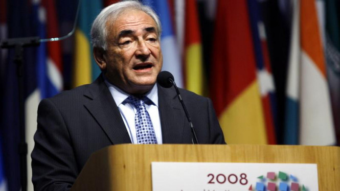 Dominique Strauss-Kahn Direktur IMF