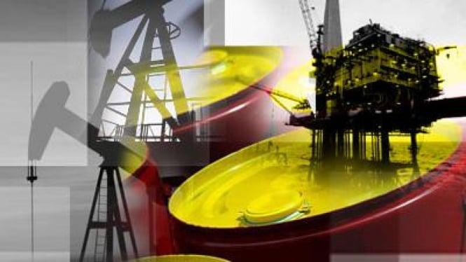 Foto ilustrasi minyak dunia