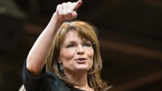 Sarah Palin Dalam Kampanye di Reno Nevada