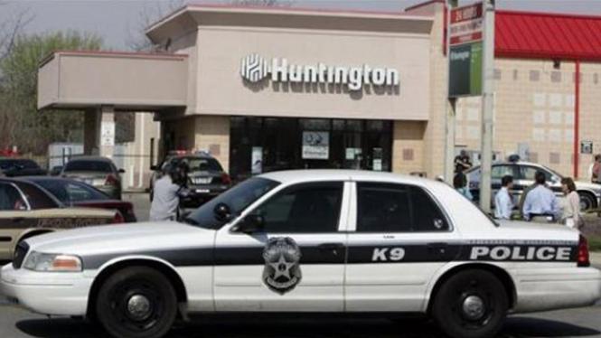 Mobil Polisi di Amerika Serikat