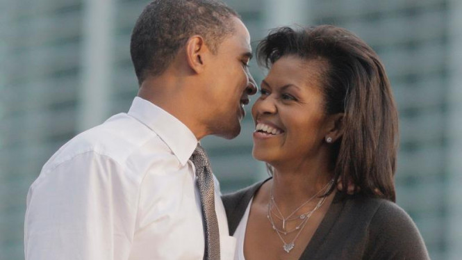 Barack dan Michelle Obama