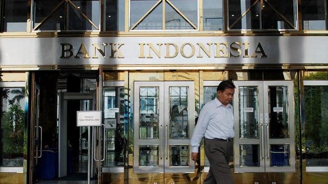 Gedung Bank Indonesia (tampak depan)