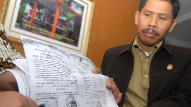 Anggota KPU dan Ijazah palsu Sukmawati Soekarnoputri
