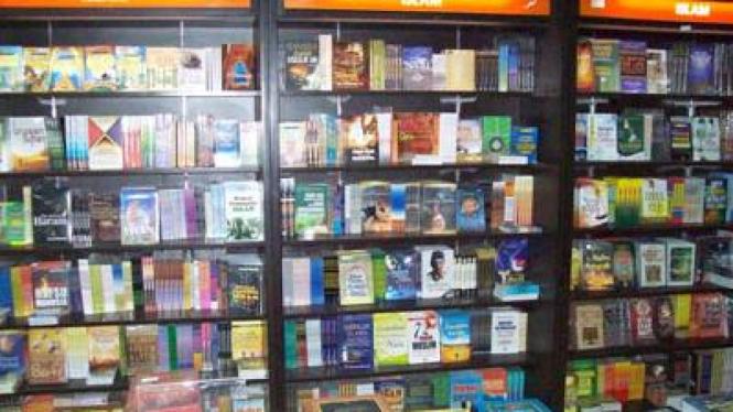 Ilustrasi toko buku.