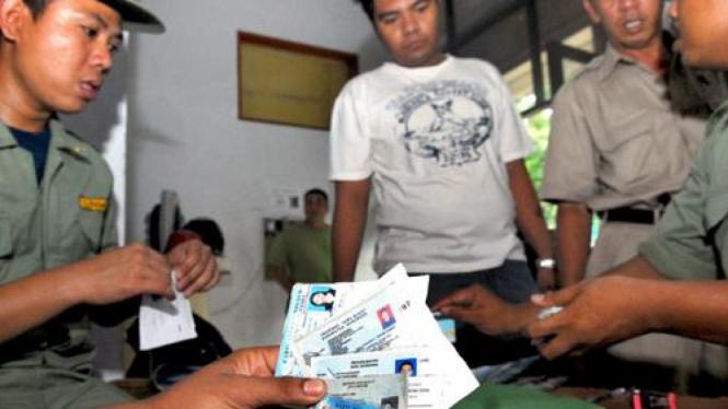Operasi Yustisi di Jakarta