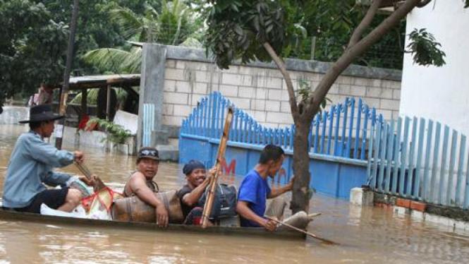 Banjir di Rawabuaya, Jakarta Barat