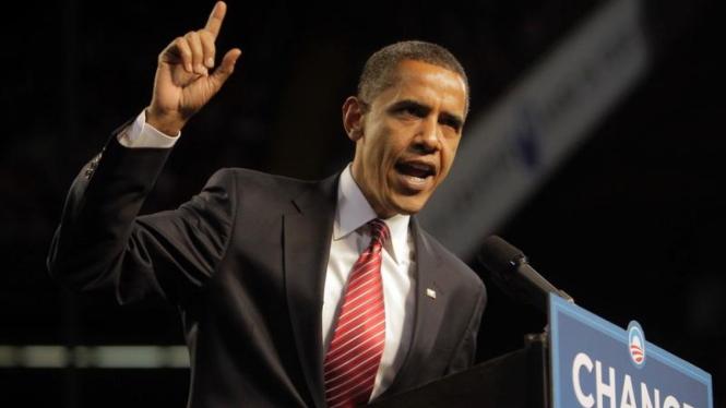 Obama Kampanye di  Mellon Arena Pittsburgh