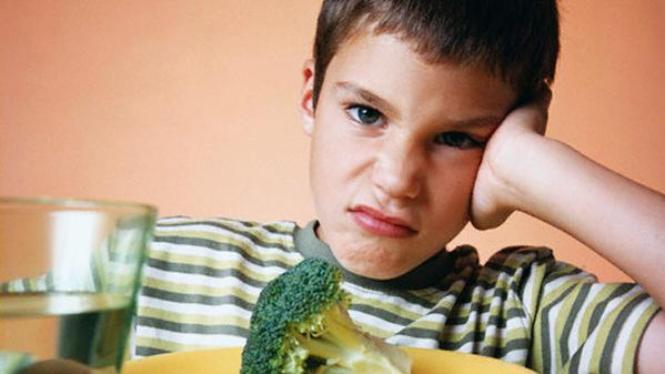 Anak tak suka sayur