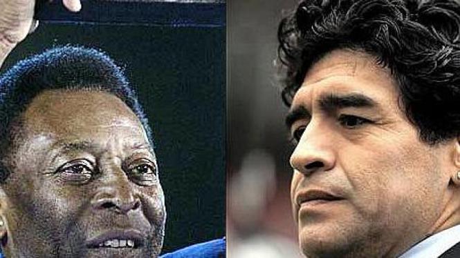 Pele & Maradona