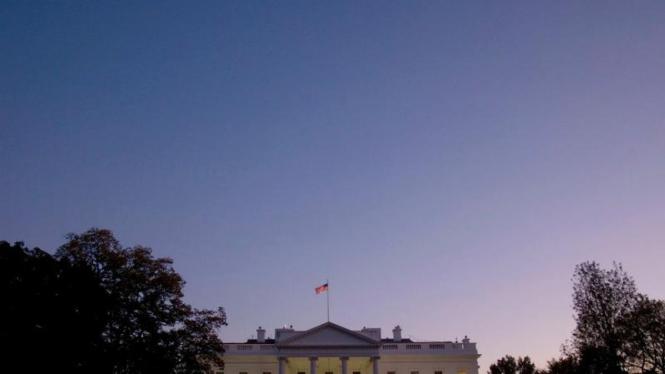 Gedung Putih di Washington DC Amerika Serikat