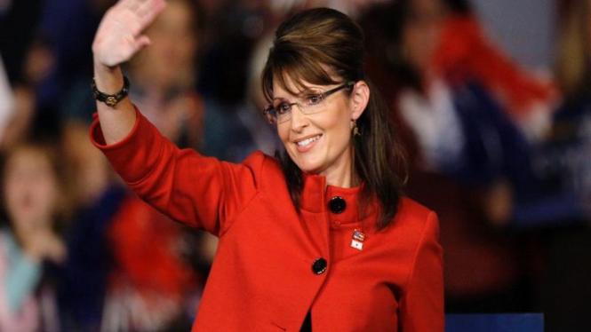 Sarah Palin Dalam Kampanye di Iowa