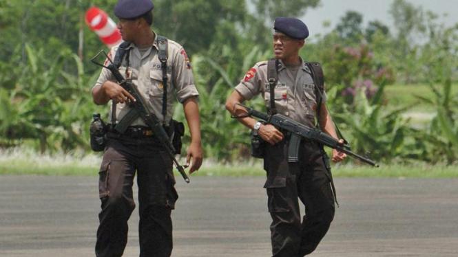 Pengamanan di Cilacap Jelang Eksekusi