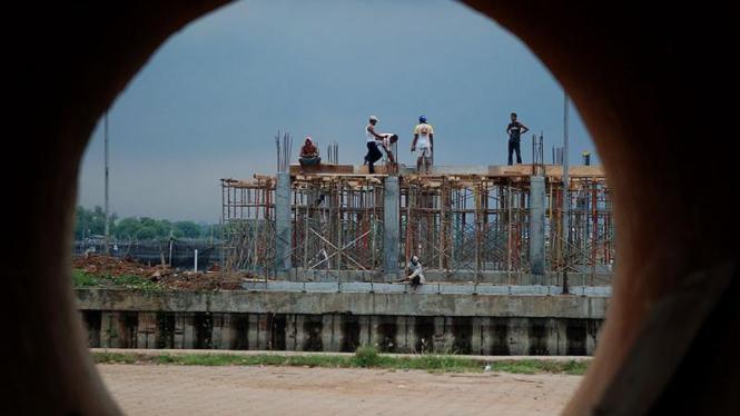 Pembangunan Pondasi Fly Over