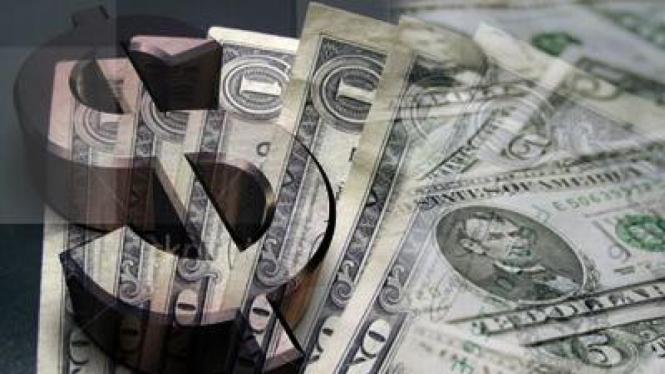 foto ilustrasi dollar