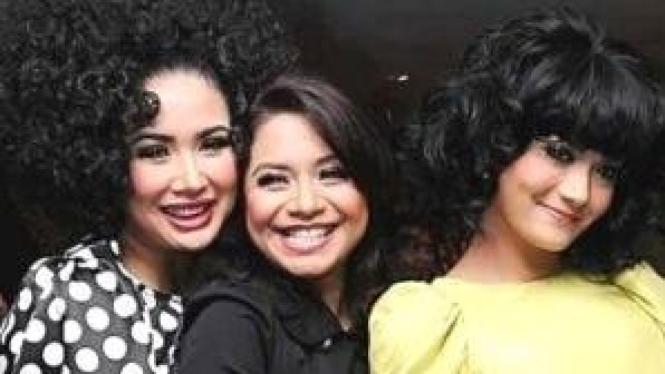 Titi Dj , Ruth Sahanaya, Krisdayanti