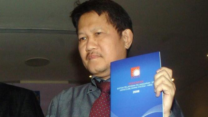 Wakil Ketua KPK Haryono Umar
