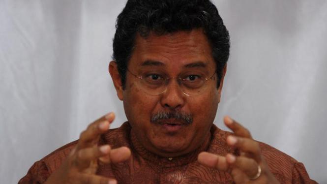Mantan Menteri Perindustrian yang juga tokoh senior alumni HMI, Fahmi Idris.