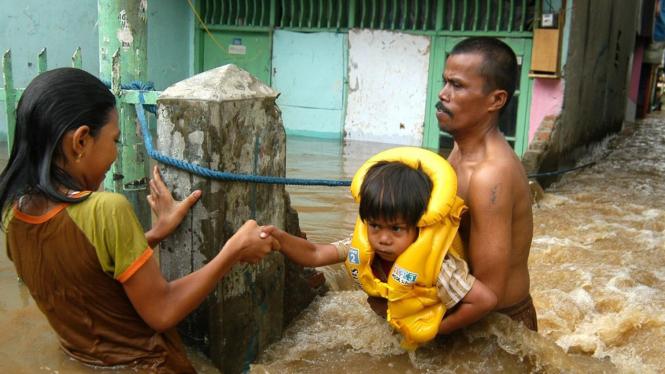 Banjir di Cawang, Jakarta Timur