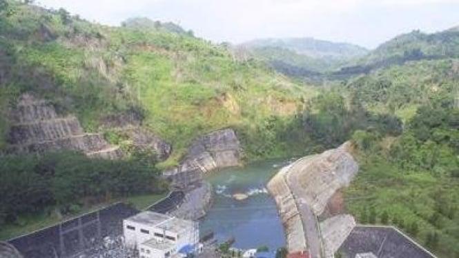 Waduk Batutegi PLTA Lampung