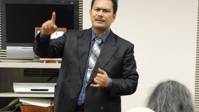 Rektor UI Gumilar R Somantri