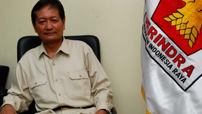 Ketua Umum DPP Gerindra Suhardi.