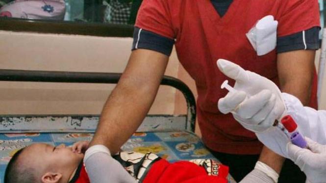 Bayi yang dirawat di rumah sakit