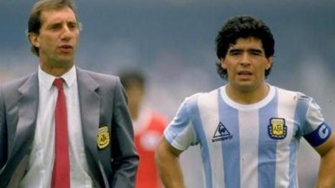 Carlos Bilardo & Maradona