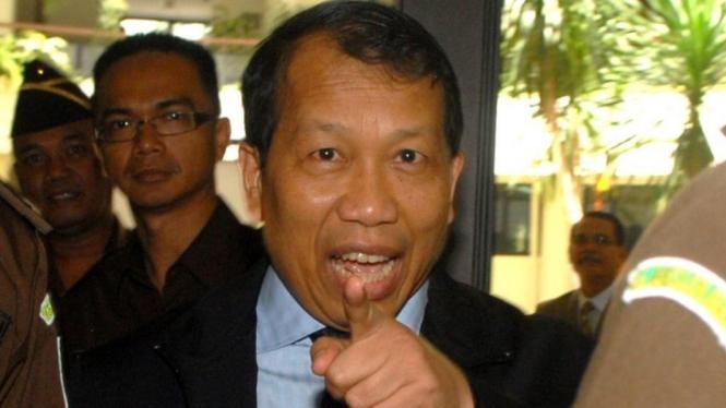 Mantan Menteri Hukum dan HAM Hamid Awaluddin