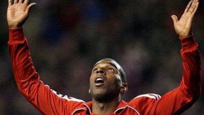 Ryan Babel ketika berseragam Liverpool.