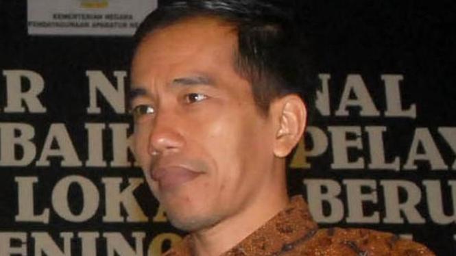 Walikota Solo Joko Widodo