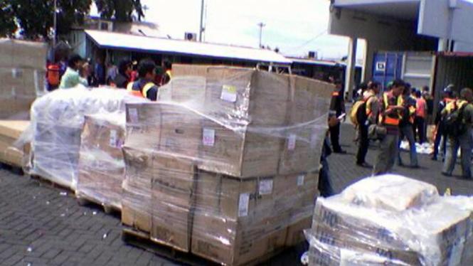 Ribuan minuman keras ilegal yang disita Bea Cukai